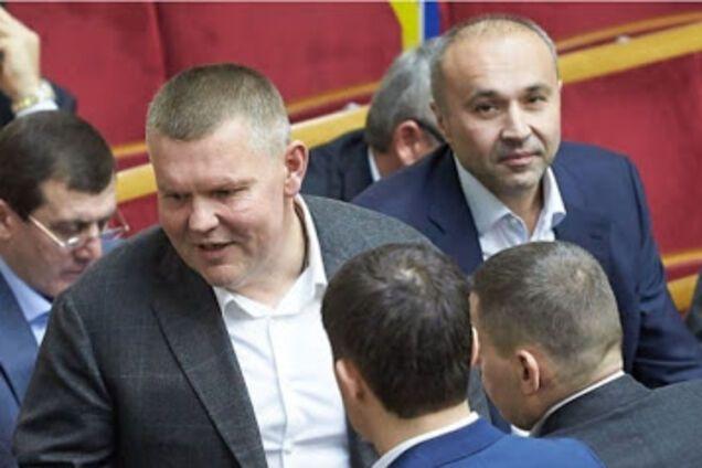 Валерій Давиденко (ліворуч) і Борис Приходько (праворуч) у Раді