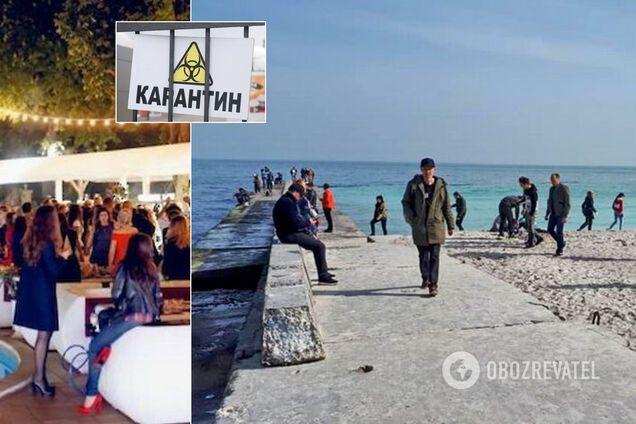 """В Одессе смягчение карантина """"спутали"""" с его отменой"""
