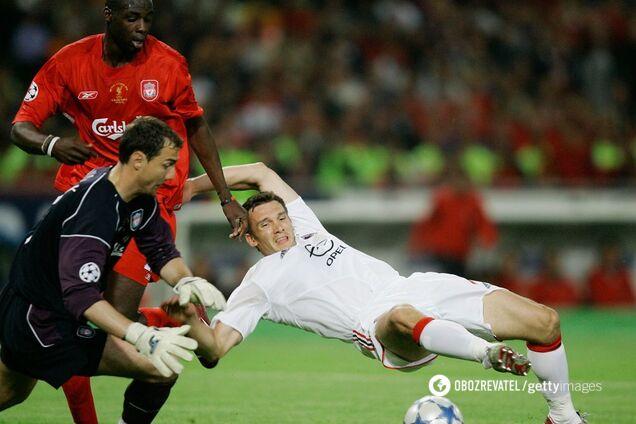 """""""Мілан"""" - """"Ліверпуль"""" фінал Ліги чемпіонів-2005"""