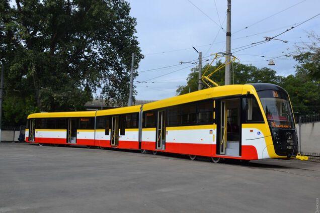 Трамвай в Одесі