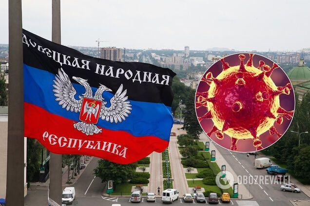 """COVID-19 в """"ДНР"""""""