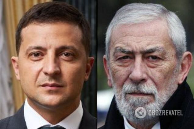 Кикабидзе и Зеленский