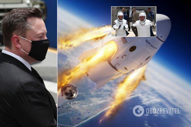 Первый запуск астронавтов SpaceX: как готовились и почему сорвался