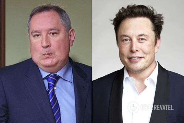 Дмитрий Рогозин и Илон Маск