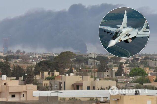 Російські Міг-29 помітили в Лівії