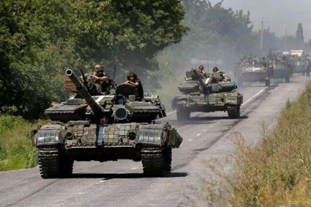 Колона танків