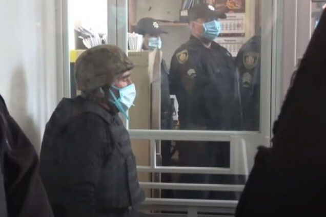 Анатолій Захаренко на засіданні суду