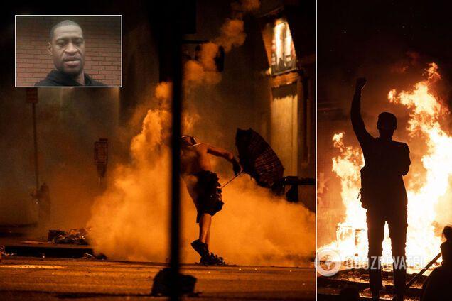 Протесты в Миннеаполисе после смерти Джорджа Флойда