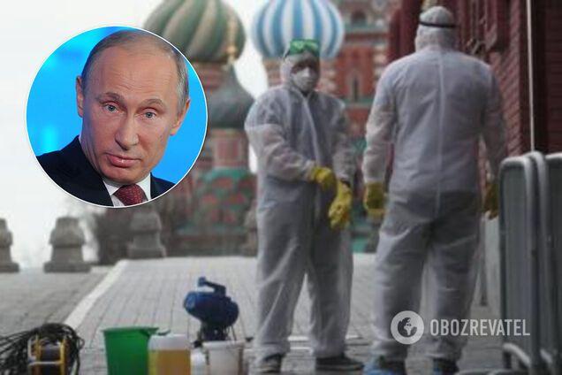 Россия становится очагом COVID-19 в Европе: Путин пошел на радикальный шаг