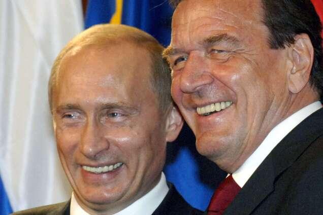 Шредер підтримав політику Путіна