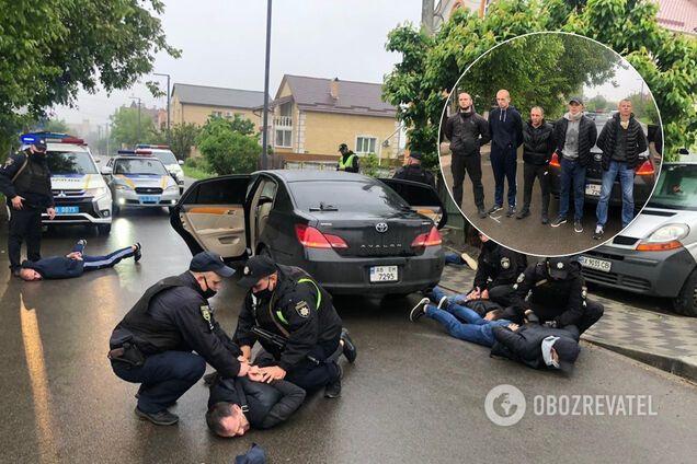 Затримання учасників перестрілки у Броварах