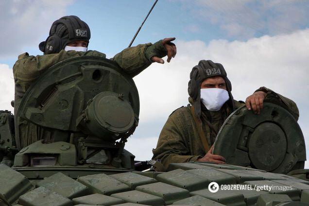 Российские оккупационные войска на Донбассе