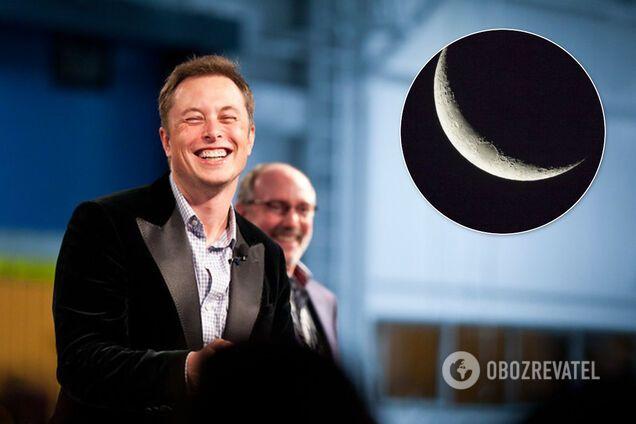 Илон Маск анонсировал полет на Луну
