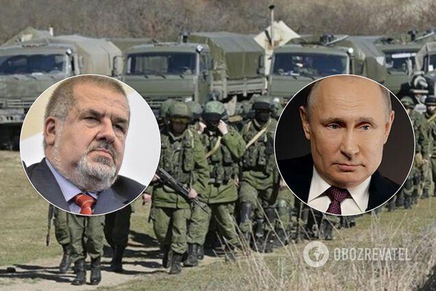 Рефат Чубаров и Владимир Путин