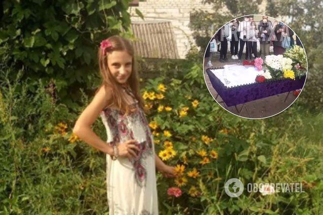 Під Харковом спалахнув скандал через похорон дівчинки, жорстоко вбитої матір'ю