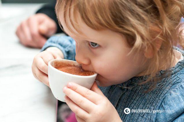 Розкрито всю правду про дитячу каву