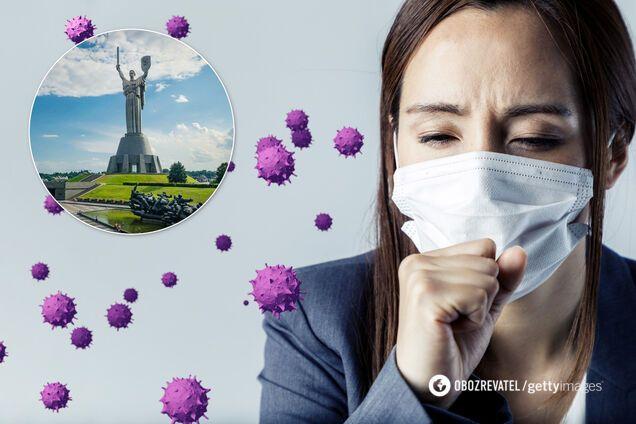 У Києві та області – понад 2,5 тисячі випадків COVID-19. Ілюстрація