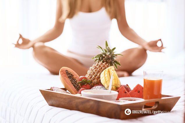Йога та харчування: розкрито основні принципи