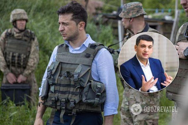 Зеленський не знає, як принести мир на Донбас – Гройсман