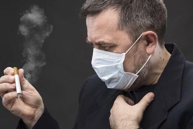 Курение провоцирует тяжелую форму коронавируса