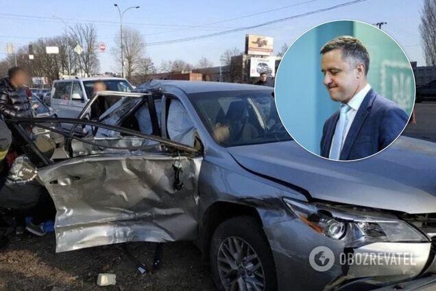 Николай Кулеба попал в ДТП 24 ноября 2019 года