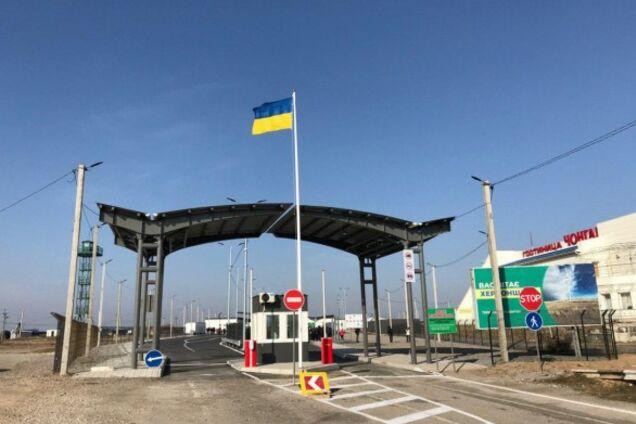 На админгранице с Крымом похитили украинского военного
