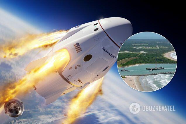 Crew Dragon, вероятно, вернется на землю в августе 2020-го