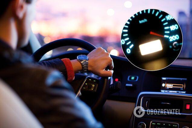 Водитель Porsche Panamera стал антирекордсменом нарушения скорости