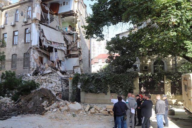 Обвал жилого дома в Одессе: выяснилась причина и новые детали
