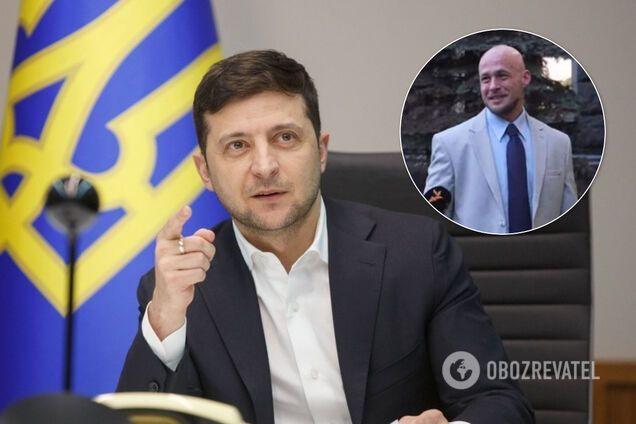 Владимир Зеленский и Денис Ермак