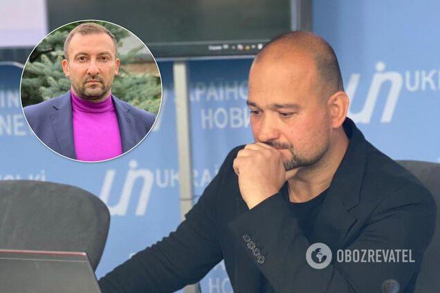 Вячеслав Соболев и его адвокат Егор Бодров
