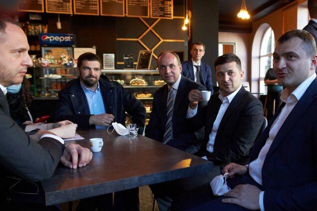 Виктор Ляшко пошутил о кофе с Зеленским в Хмельницком
