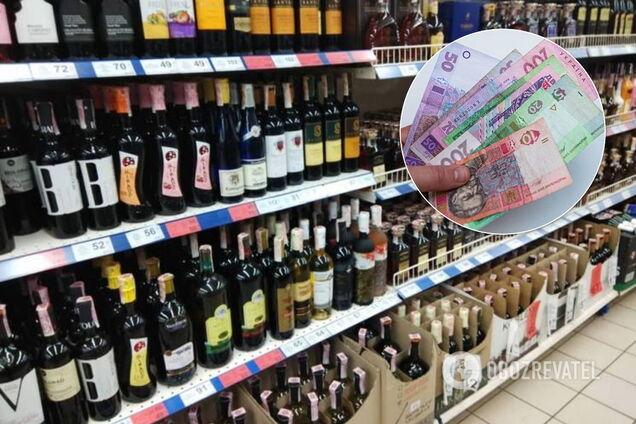 Цены на алкоголь и сигареты в Украине