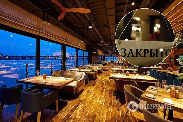 Рестораны и кафе в Киеве пока не откроют