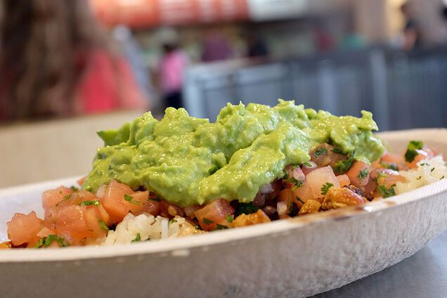 Гуакамоле можна поєднувати з овочами