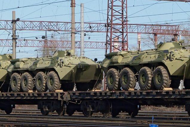 Россия перебросила технику на Донбасс