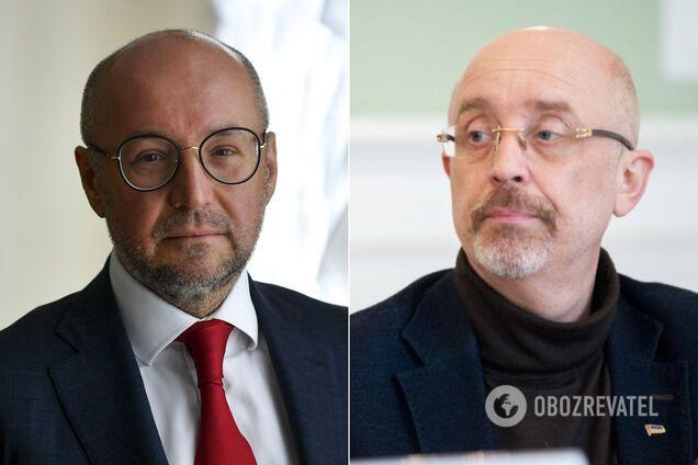 Руслан Демченко й Олексій Резніков