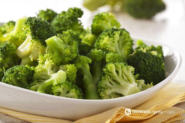 Брокколи оказывает защитное действие на желудок