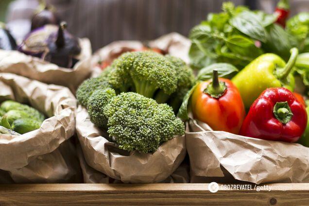 Овочі повинні бути присутніми в щоденному раціоні