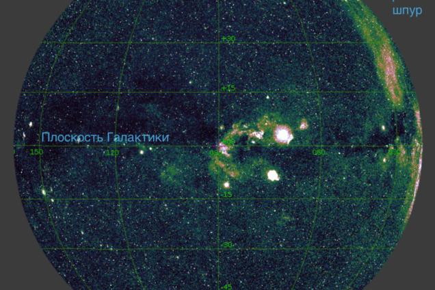 Ученые впервые создали рентгеновскую карту всего неба