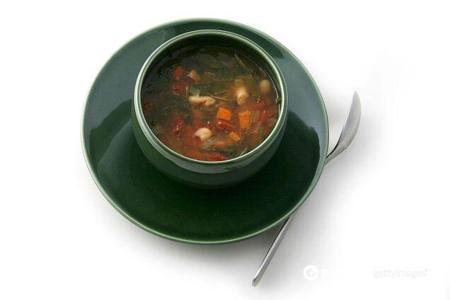 Суп - відмінна їжа в спеку