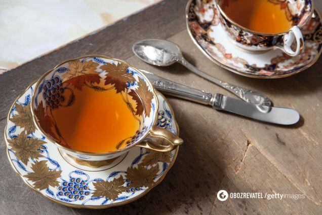 Теплий чай допоможе регулювати теплообмін