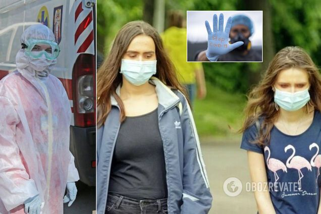 Коронавирус в Украине не утихает