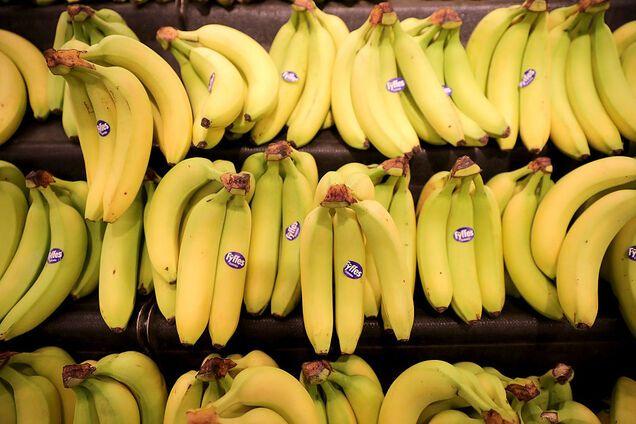 Банани багаті на серотонін та фолієву кислоту