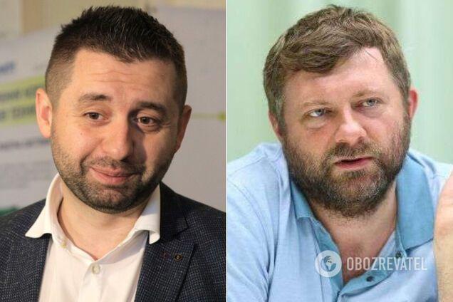 Давид Арахамія і Олександр Корнієнко