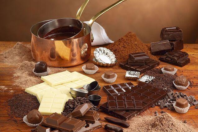 Шоколад - самый калорийный продукт