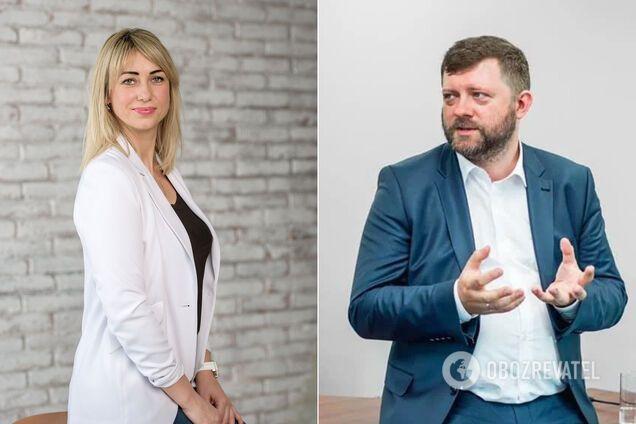 Тетяна Домбровська і Олександр Корнієнко