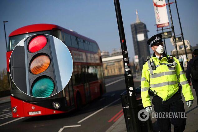 """Британия введет """"систему светофора"""""""