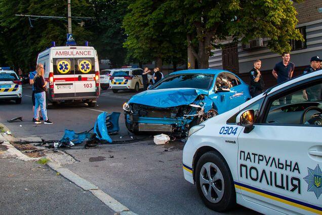 В Днепре водитель устроил ДТП с двумя пострадавшими