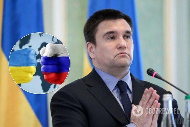 Клімкін назвав три умови повернення Донбасу і Криму